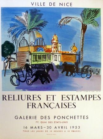 Lithographie Dufy - Ville de Nice