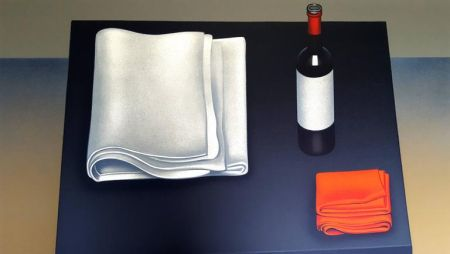 Lithographie Rohner - Vin