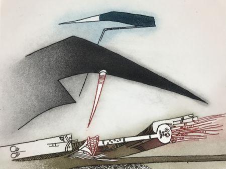 Radierung Und Aquatinta Lam - Vingtième Parallèle Suite ( 20th Parallel Series )