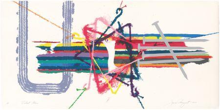 Lithographie Rosenquist - Violent Turn