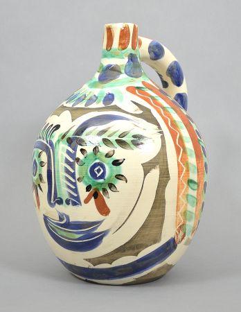Keramik Picasso - Visage aux yeux rieurs (Laughing Eyed Face), 1969
