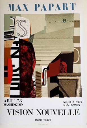 Lithographie Papart - Vision Nouvelle  Art 78 Washington