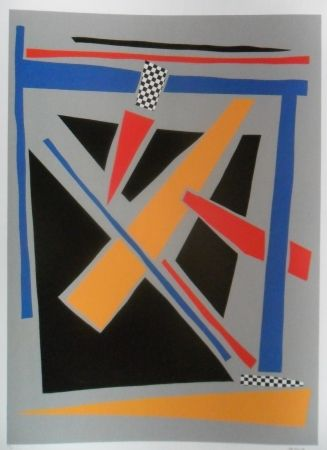 Siebdruck Jacobsen - Visions Sculpturales I