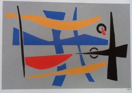 Siebdruck Jacobsen - Visions Sculpturales II