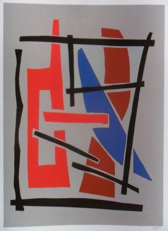 Siebdruck Jacobsen - Visions Sculpturales III