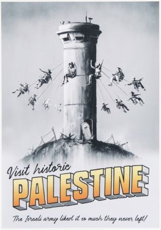 Offset Banksy - Visit historic Palestine