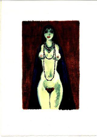Illustriertes Buch Van Dongen - Voltaire : LA PRINCESSE DE BABYLONE. 48 lithographies en couleurs (1948)