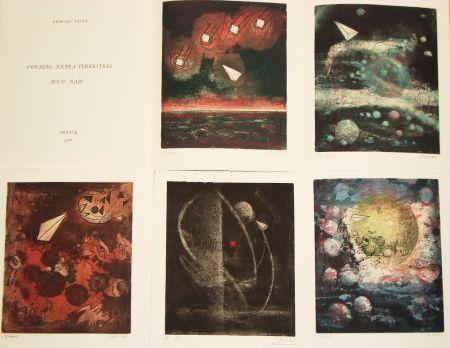 Illustriertes Buch Visat - Voyages extra-terrestres d'un naïf