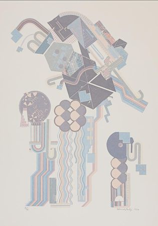 Siebdruck Paolozzi - W16