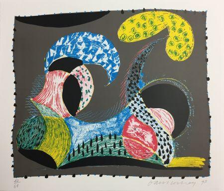 Siebdruck Hockney - Warm Start