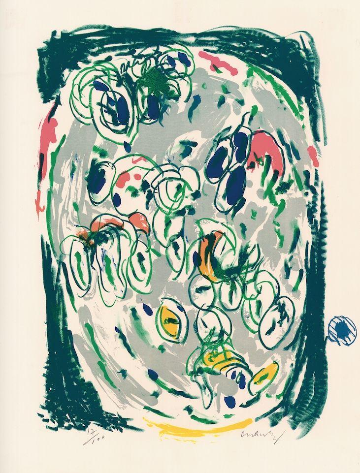 Lithographie Alechinsky - Waterzoi