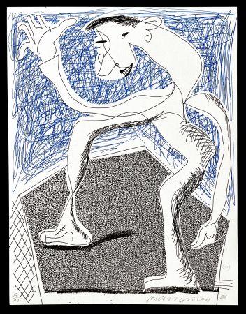 Keine Technische Hockney -  Waving, April  1986