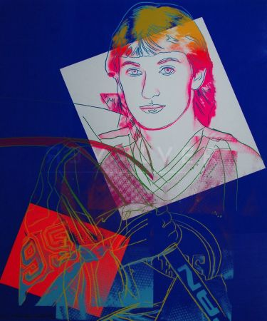 Siebdruck Warhol - Wayne Gretzky (Fs Ii.306)