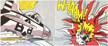Lithographie Lichtenstein - WHAAM! (Set)