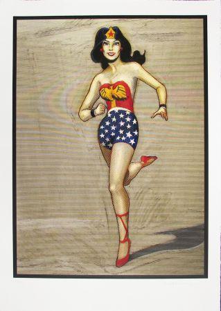 Holzschnitt Ramos - Wonder Woman
