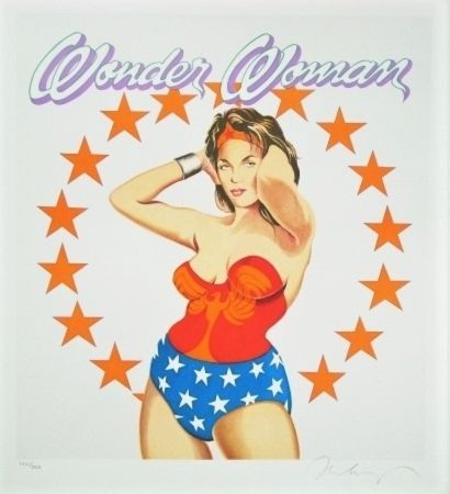 Lithographie Ramos - Wonder Woman