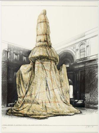 Multiple Christo - Wrapped Monument To Leonardo