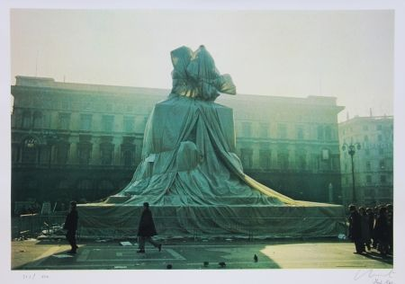 Offset Christo - Wrapped Monument to Vittorio Emanuel
