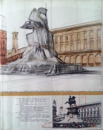 Multiple Christo - Wrapped Monument to Vittorio Emanuele ,