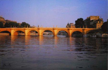 Multiple Christo - '' Wrapped  Pont Neuf ''