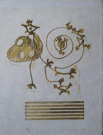 Lithographie Ernst - Wunderhorn, XXIX