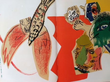 Illustriertes Buch Chagall - XXe No 26