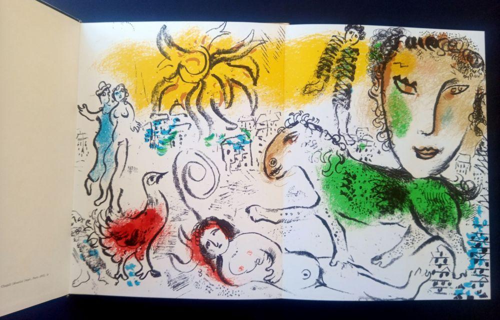 Illustriertes Buch Chagall - XXe Siècle chagall monumental