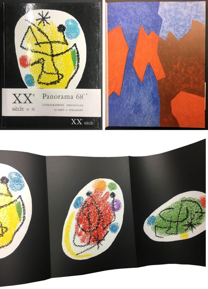 Illustriertes Buch Miró - XXe SIECLE. Nouvelle série. XXXe année. N° 31. Décembre 1968 - PANORAMA 68. LES GRANDES EXPOSITIONS