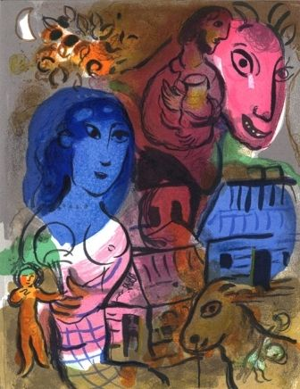 Lithographie Chagall - Xxeme Century, Hommage A Marc Chagall