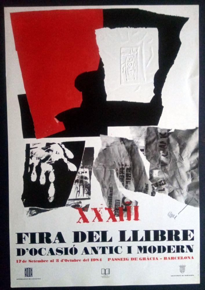 Plakat Clavé - XXXIII Fira del llibre d'ocasió antic i Modern