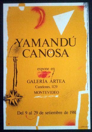 Plakat Canosa - Yamandú Canosa - Galeria Artea - Montevideo - 19