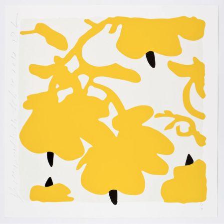 Siebdruck Sultan - Yellow Lanterns