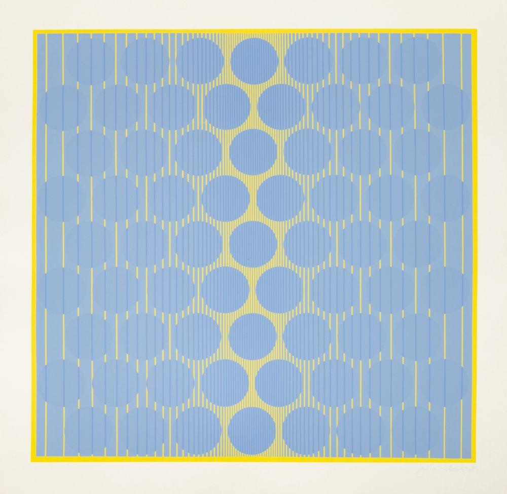 Siebdruck Stanczak - Yellow One