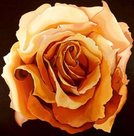 Siebdruck Nesbitt - Yellow Rose