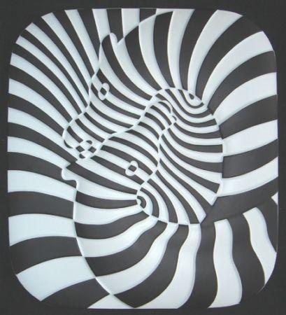 Keramik Vasarely - Zebra Ceramique