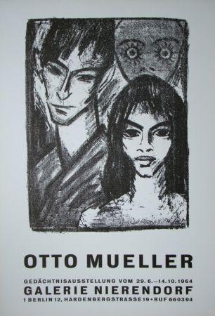 Plakat Mueller - Zigeunerpaar