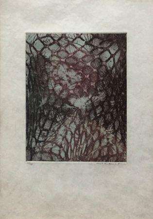 Aquatinta Ernst - ZU: SAMUEL BECKETT