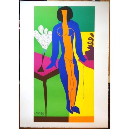 Lithographie Matisse - Zulma