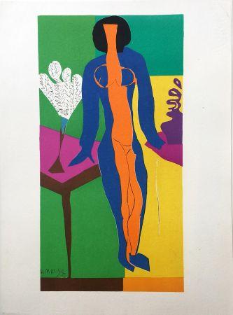 Lithographie Matisse - ZULMA (1950)