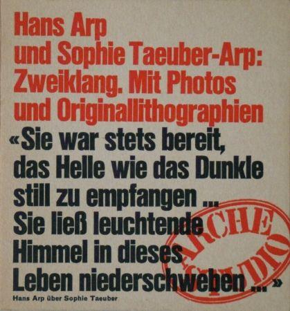 Illustriertes Buch Taeuber-Arp - Zweiklang